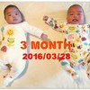 Happy 3month Birthday ★