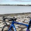 本日のライド 荒川岩淵水門往復78km