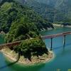 自然を巡る(奥大井湖上駅)
