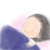 【子供の寝顔】