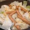 【1食106円】キャベツとチョリソーの蒸し焼きの作り方