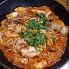 スパゲッティーペスカトーレを作りながら食物連鎖を考える。