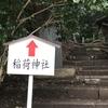 春日部稲荷神社の参道で盃状穴らしきものを見つけた⁉