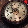 double wheel escapement clock.