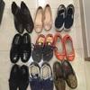 靴を捨てている2016秋