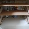 DIY  100均スノコで簡易棚を自作してみた