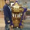 リオンJapan Touch会場に到着!そして神輿とご対面・・・そこには盟友ニコちゃんが!