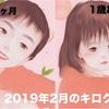 子育て記録【2019年2月】