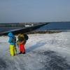 真冬の積丹半島一周 港釣り