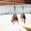 【立体プラバンピアスの作り方/写真17枚】幾何学を立体に組み立てたシンプルピアス作ってみた。