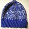 風工房さんの青いニット帽