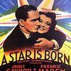 映画「スタア誕生」(1937)オリジナル作品。