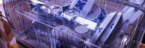 【60代・二人暮らし】象印・食器乾燥機のフタをスワイプでおそうじ。