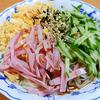 8月25日(日)AMEMIYAの「冷やし中華始めました」の替え歌企画と、昼食の冷やし中華。