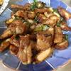 幸運な病のレシピ( 962 )夜:パイコ(豚バラ軟骨)照り焼き、根菜と牛肉のきんぴら、汁、カツオ刺身
