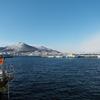 青空の函館港…