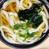 つるつるもっちり麺と天ぷらランチ@いけこうどん