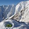 厳冬期の北アルプス 明神岳5峰 【中編】