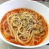 おうち ごはん アサリのトマトスープパスタ