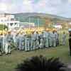 R1.11.11 消火器取扱い訓練