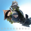 大分県中津市 中津城 黒田如水が築城! #360pic