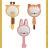 子どもへのプレゼントにあげたい 動物型のかわいい手鏡
