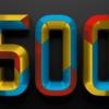 500日突破