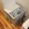 【部屋紹介】視覚的にもスペース的にもぴったり合う無印良品のゴミ箱