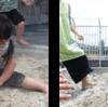 〈どれみ〉砂遊び