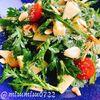 春菊とりんごのサラダ(動画レシピ)