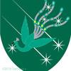孔雀の紋章。夜に飛んだりするかな?