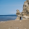 【乙部町】晴れた日曜日、滝瀬海岸(シラフラ)とくぐり岩へ