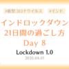 【ロックダウン記録】ロックダウン8日目 ~何もしない日~