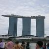 【シンガポール女子旅(前編)】マリーナベイサンズホテルのプールとゴーグルと水泳帽