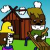 ヤマサチ、産屋を建てる
