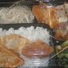 [20/01/09]「琉花」の「ささみかつのきのこソース(日替わり弁当)」 300円 #LocalGuides