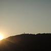 夕闇に沈む古城「春の竹田城」