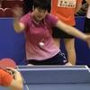 「裏打ち!」 裏面打法によるバックハンド 2018全国高校選抜卓球大会東海ブロック予選