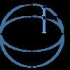 matplotlibを使って楕円に外接する多角形をつくる