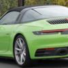 ポルシェ 911タルガ 新型、デビュー直前の姿をスクープ!