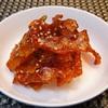 韓国常備菜 カワハギの甘辛炒め