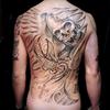 死神 タトゥーデザイン Grim Reaper tattoo
