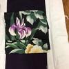 新・都ホテルのビヤガーデン着物でいきました。