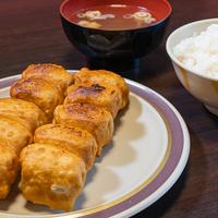 第7ギョーザの店の「ホワイト餃子定食」