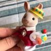ショコラうさぎちゃんの帽子とカバンを作ってみました