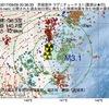 2017年09月09日 00時36分 茨城県沖でM3.1の地震
