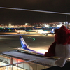 英会話ロボット★チャーピーのひと言英会話「キミはなんにだってなれる」@羽田空港_国際線展望デッキ