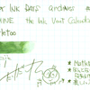 #0916 DIAMINE the Ink Vent Calender Mistletoe