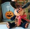 ハロウィンと言えばこの色☆オレンジ×ブラックのこぎんウサギ
