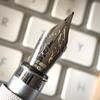 事務仕事と訃報と無印良品の万年筆
